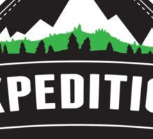 Vintage Expedition Sticker