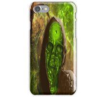 Green Glass Alien iPhone Case/Skin