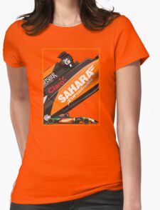 Sahara Force India 2014 Womens Fitted T-Shirt