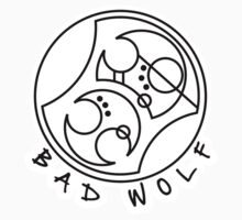 'Bad Wolf' in Gallifreyan  by ChibiPeppers