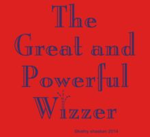 """""""The Great and Powerful Wizzer"""" Baby Boy Onesie Romper One Piece - Short Sleeve"""