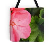 Pink Geraniums Tote Bag