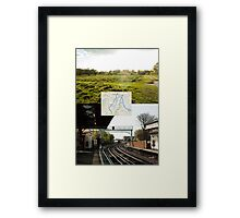 Walking Transport Framed Print