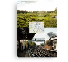 Walking Transport Canvas Print
