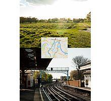 Walking Transport Photographic Print