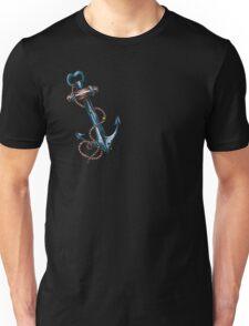 Blues Anchor Tattoo Art Unisex T-Shirt