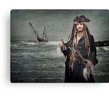 Captain Jack Saves The Rum Canvas Print