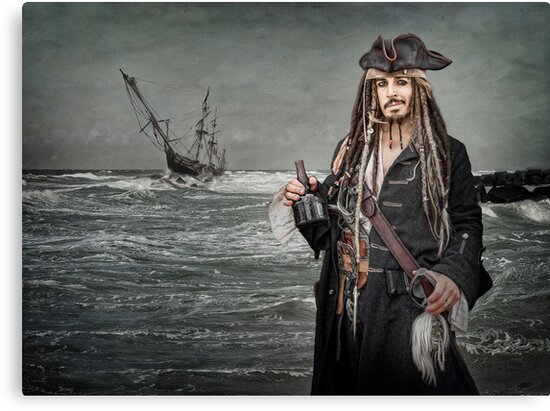 Captain Jack Saves The Rum by Patricia Jacobs CPAGB LRPS BPE4