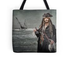 Captain Jack Saves The Rum Tote Bag