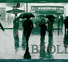 Brolly Brains. by nawroski .