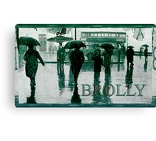 Brolly Brains. Canvas Print