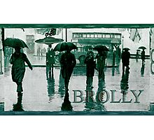 Brolly Brains. Photographic Print