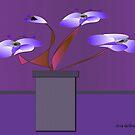 Flowering Plant by IrisGelbart