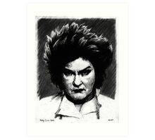 Galina Red Reznikov Art Print