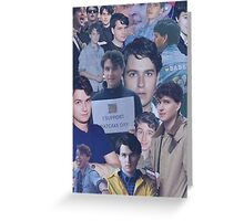 who is ezra koenig? Greeting Card