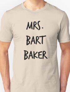 Mrs. Bart Baker Unisex T-Shirt