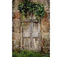 Old  Door Photographic Print