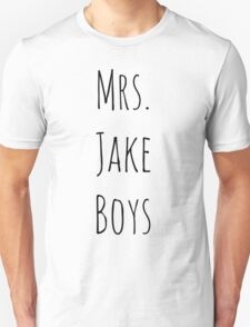 Mrs. Jake Boys T-Shirt