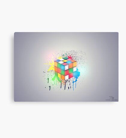 Light Cube Canvas Print