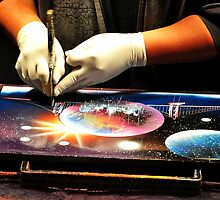 Spray painter at work by atitsince82