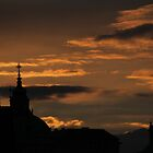 Prague Skyline by Robert Worth