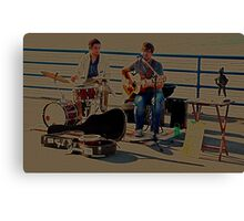 Street Band Canvas Print