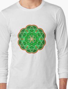 Flower of Life - green version T-Shirt