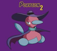 Dark Wing Duck Porygon2 by Bammelsan