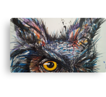 'Owl Insanity' 2014 Canvas Print