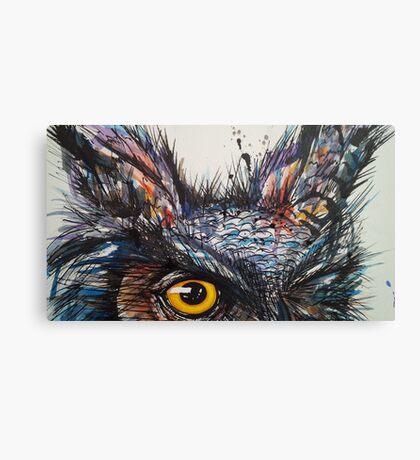 'Owl Insanity' 2014 Canvas Print