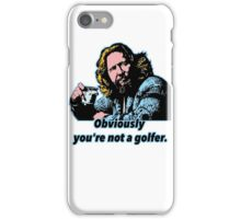 Big Lebowski Philosophy iPhone Case/Skin