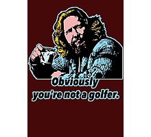 Big Lebowski Philosophy Photographic Print