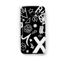 On The Road Again Tour stage pattern Samsung Galaxy Case/Skin
