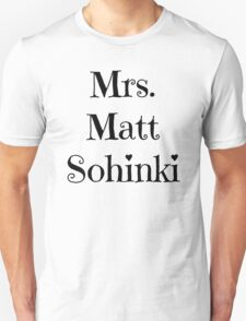 Mrs. Matt Sohinki T-Shirt