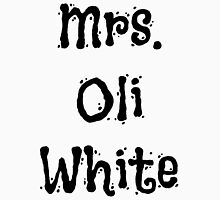 Mrs. Oli White Unisex T-Shirt