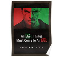 Breaking Bad and Dexter Finale Poster