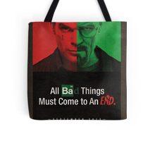 Breaking Bad and Dexter Finale Tote Bag