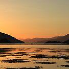 Knoydart Sunset by beavo