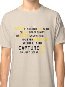 EMINEM MOTIVATIONNAL SHIRT BLACK&YELLOW Classic T-Shirt