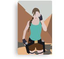Classic Lara Croft Canvas Print