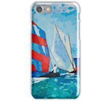 Workboat Race iPhone Case/Skin