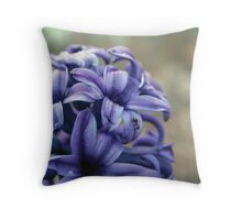 Ant on Hyacinth Throw Pillow