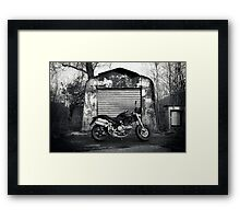 Ducati / Out Of The Hangar #01 Framed Print