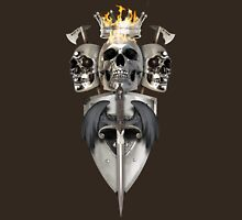 King and Lieutenants - Metal Heads, Bikers and Warriors Unisex T-Shirt