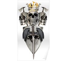 King and Lieutenants - Metal Heads, Bikers and Warriors Poster
