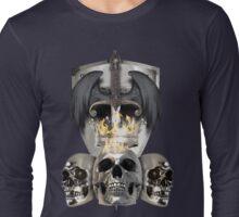 Metal Heads, Bikers and War - King and Lieutenants Long Sleeve T-Shirt