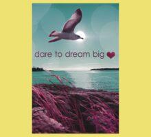 dream big  One Piece - Short Sleeve