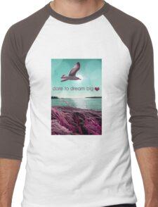 dream big  Men's Baseball ¾ T-Shirt