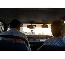 The Taxi Photographic Print