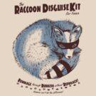 Raccoon Disguise Kit - Brown & Blue by Lee Bretschneider
